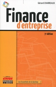 Finance d'entreprise - Gérard Charreaux |