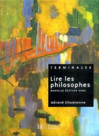 Deedr.fr Lire les philosophes Tle Image
