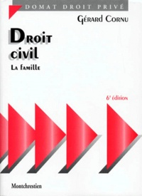 Gérard Cornu - Droit civil - La famille. 1 Cédérom