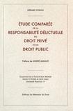 Gérard Cornu - Etude comparée de la responsabilité délictuelle en droit privé et en droit public.