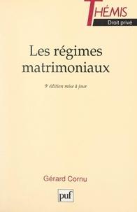 Gérard Cornu et Maurice Duverger - Les régimes matrimoniaux.