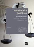 Gérard Cornu - Vocabulaire juridique.