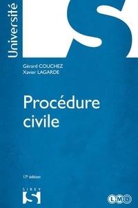 Gérard Couchez et Xavier Lagarde - Procédure civile 2014.