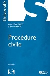 Gérard Couchez et Xavier Lagarde - Procédure civile.