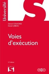 Gérard Couchez et Daniel Lebeau - Voies d'exécution.