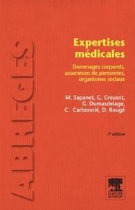 Gérard Creusot et Michel Sapanet - Expertises médicales - Dommages corporels, assurances de personnes, organismes sociaux.