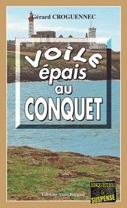 Gérard Croguennec - Voile épais au Conquet.