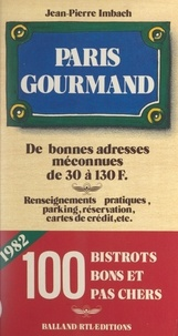 Gérard d'Hotel et Jean-Pierre Imbach - Paris gourmand.