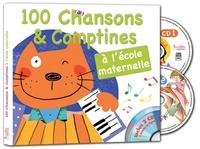 Gérard Dalton et Francine Pohl - 100 chansons & comptines à l'école maternelle. 2 CD audio