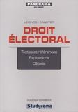 Gérard-David Desrameaux - Droit électoral.