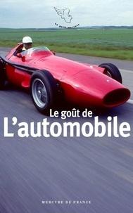 Gérard de Cortanze - Le goût de l'automobile.