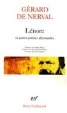 Gérard de Nerval - Lénore - Et autres poésies allemandes.