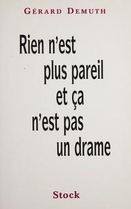 Gérard Demuth - .