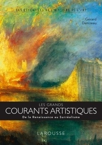 Gérard Denizeau - Panorama de l'art contemporain - De Jackson Pollock à Jeff Koons.