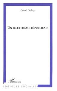 Galabria.be Un illettrisme républicain Image