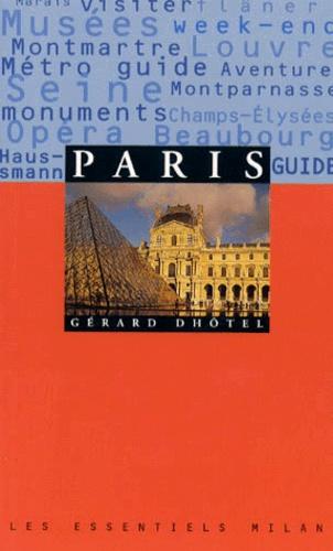 Gérard Dhôtel - Paris.