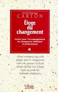 Deedr.fr ELOGE DU CHANGEMENT. - Leviers pour l'accompagnement du changement individuel et professionnel Image