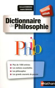 Dictionnaire de Philosophie - Gérard Durozoi |