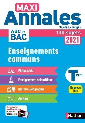 Enseignements communs Tle  Edition 2021