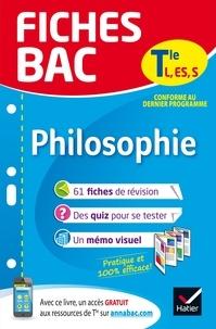 Gérard Durozoi - Fiches bac Philosophie Tle L, ES, S - fiches de révision   Terminale séries générales.