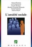 Gérard Emilien - L'anxiété sociale.