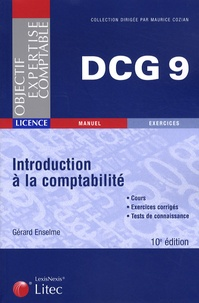 Gérard Enselme - DCG 9 Introduction à la comptabilité.