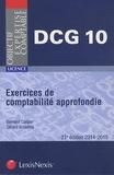 Gérard Enselme et Bernard Caspar - Exercices de comptabilité approfondie.