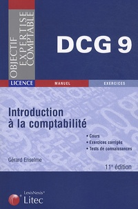 Gérard Enselme - Introduction à la comptabilité DCG 9.