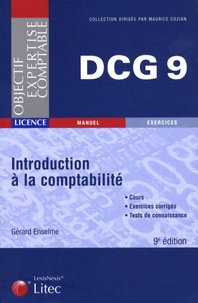 Gérard Enselme - Introduction à la comptabilité DCG9.