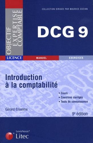 Gérard Enselme - Introduction à la comptabilité DCG9.