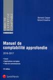 Gérard Enselme et Bernard Caspar - Manuel de comptabilité approfondie.