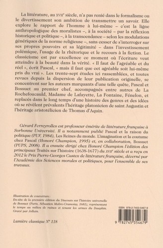 De Pascal à Bossuet. La littérature entre théologie et anthropologie