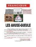 Gérard Francoeur - Les amuse gueules.