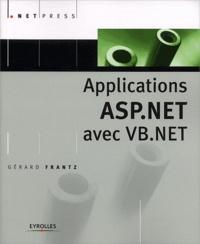 Gérard Frantz - Applications ASP.NET avec VB.NET.
