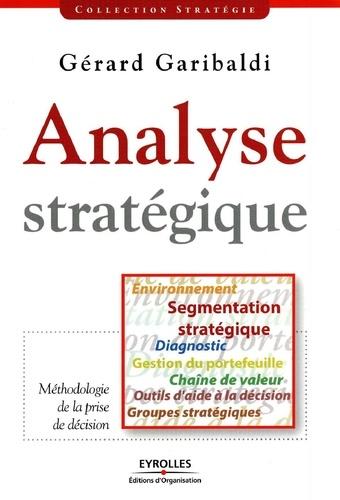 Analyse stratégique  Edition 2008