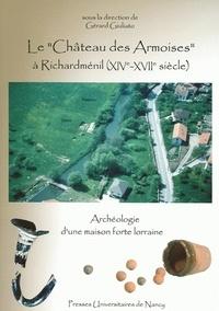 """Gérard Giuliato - Le """"Château des Armoises"""" à Richardménil (XIVe-XVIIe siècles) - Archéologie d'une maison forte lorraine."""