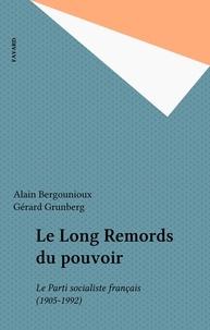 Gérard Grunberg et Alain Bergounioux - .