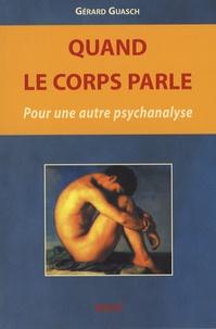 Histoiresdenlire.be Quand le corps parle - Pour une autre psychanalyse Image