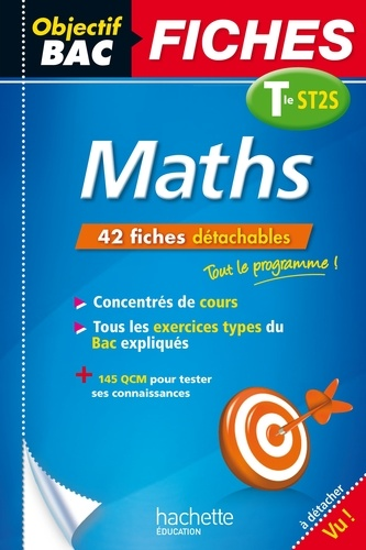 Objectif Bac Fiches Maths Term ST2S