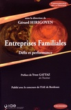 Gérard Hirigoyen - Entreprises familiales - Défis et performance.