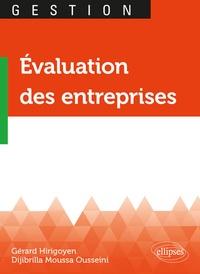 Gérard Hirigoyen et Djibrilla Moussa Ousseini - Evaluation des entreprises.