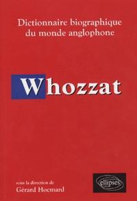Gérard Hocmard et Cécile Loubignac - Whozzat - Dictionnaire biographique du monde anglophone.