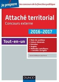 Gérard Hoffbeck et Julia Perrot - Attaché territorial 2016-2017 - Concours externe - 2e éd. - Catégorie A.