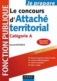 Gérard Hoffbeck - Le concours d'Attaché territorial - Catégorie A.