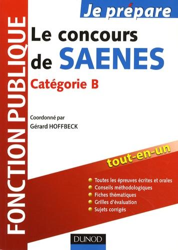 Gérard Hoffbeck - Le concours de SAENES - Catégorie B, Fonction publique.