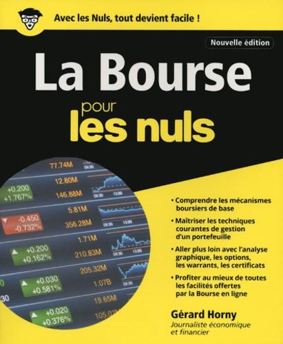 La Bourse pour les nuls 4e édition
