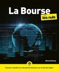 Gérard Horny - La bourse pour les nuls.
