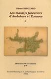Gérard Houzard - Les massifs forestiers d'Andaines et Ecouves - Tome 1 + Plans hors texte, 2 volumes.