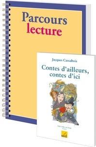 Gérard Hubert-Richou - Contes d'ailleurs, contes d'ici de Jacques Cassabois - 18 livres + fichier cycle 3 niveau 2.