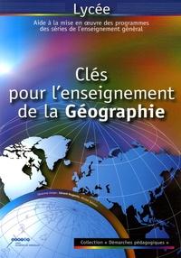 Gérard Hugonie et Michel Sainero - Clés pour l'enseignement de la géographie.
